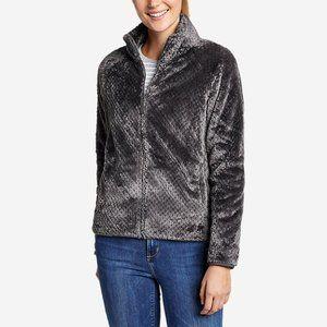 Eddie Bauer Alpine Plush fleece zip up jacket